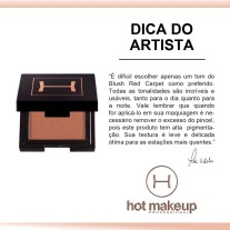 DICA DO ARTISTA BLUSH RED CARPET
