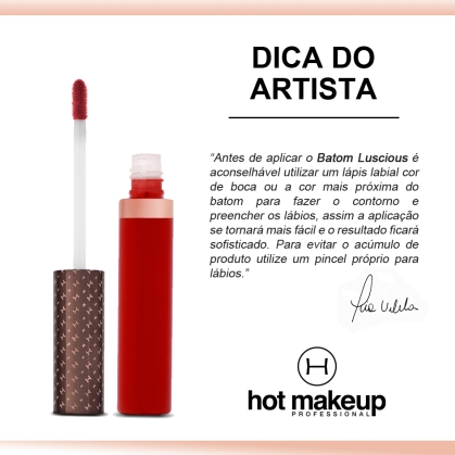 DICA DO ARTISTA LUSCIOUS